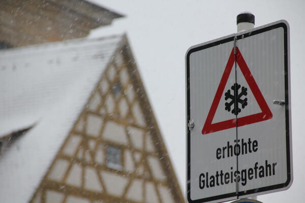 Winterdienst (Foto: Pressestelle Stadt Bamberg)
