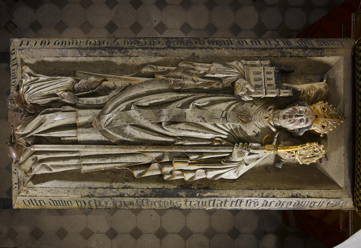 Ottograb in der Kirche St. Michael