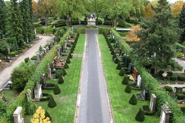 Bamberger Hauptfriedhof (Foto: Garten- und Friedhofsamt)