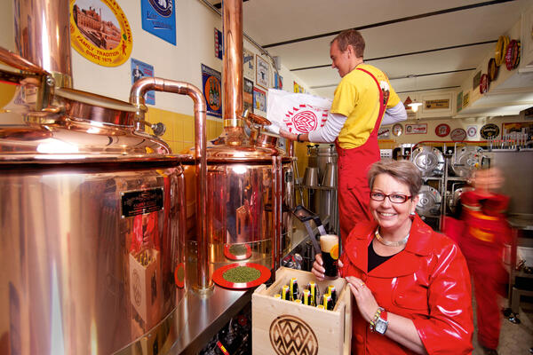 Standortbroschüre Brauerei Weyermann