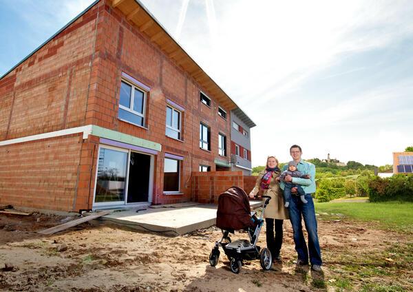 Standortbroschüre Hausbau und Familie
